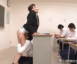 student lick her..