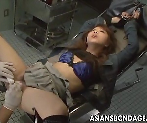 Japanese babe in weird..