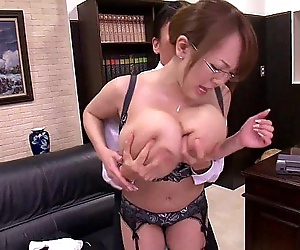 Asian with huge boobs..