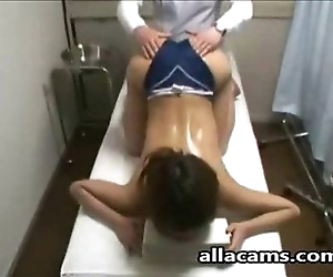 Amateur asian massage!..
