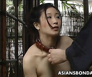 Asian slut loves to be..