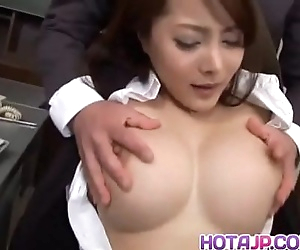 Mei Sawai with big tits..