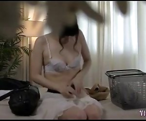 Asian Girl Massaged..