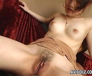Japanese girl toyed..